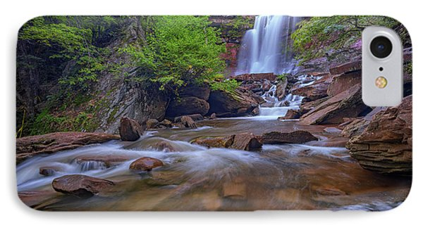 Late Summer At Kaaterskill Falls IPhone Case by Rick Berk