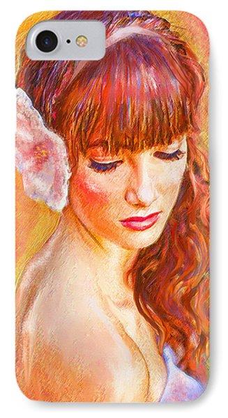 Latina Beauty Phone Case by Jane Schnetlage
