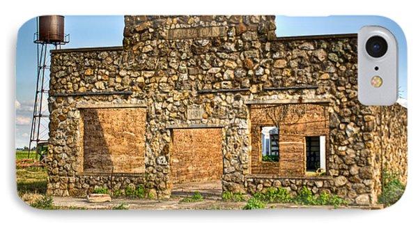 Laura Town Ghost Town In Arkansas  Phone Case by Douglas Barnett