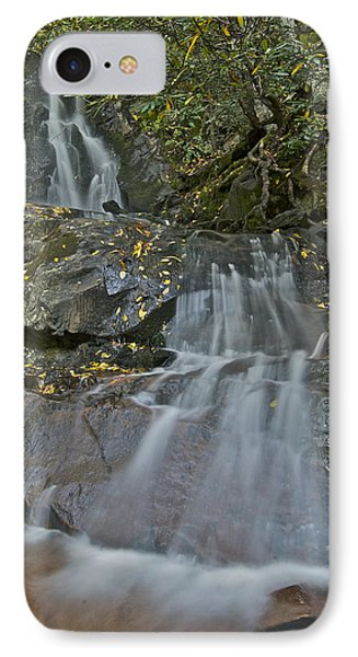 Laurel Falls Phone Case by Michael Peychich
