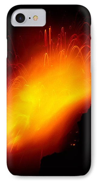 Lava And Steam Phone Case by Peter French - Printscapes