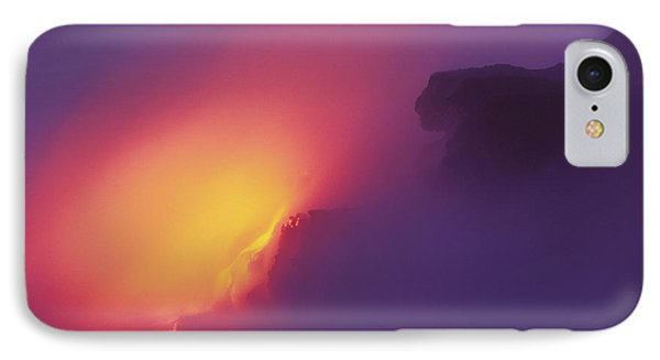Lava Meets The Sea Phone Case by William Waterfall - Printscapes