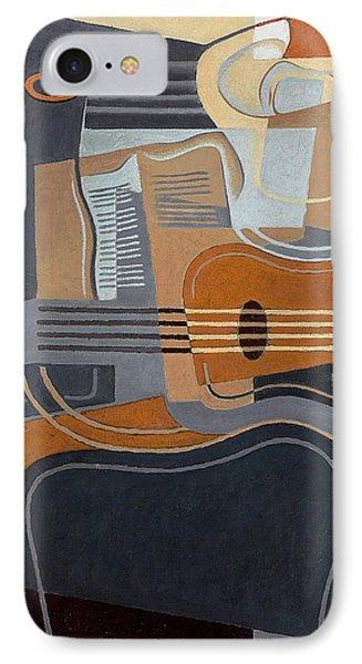Le Gueridon IPhone Case by Juan Gris