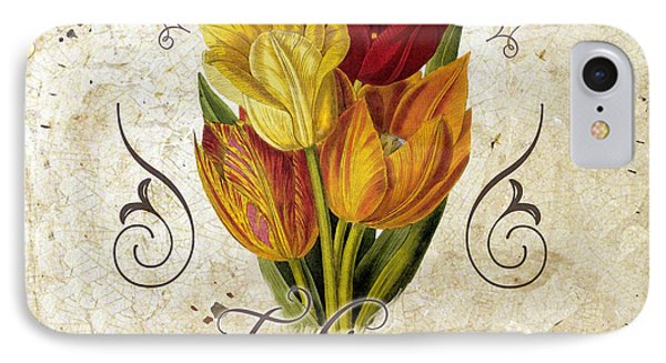 Le Jardin Tulipes IPhone 7 Case by Mindy Sommers