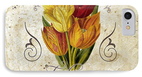 Le Jardin Tulipes IPhone Case by Mindy Sommers