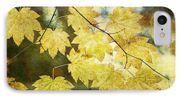 Leaf Zen T Phone Case by Rebecca Cozart