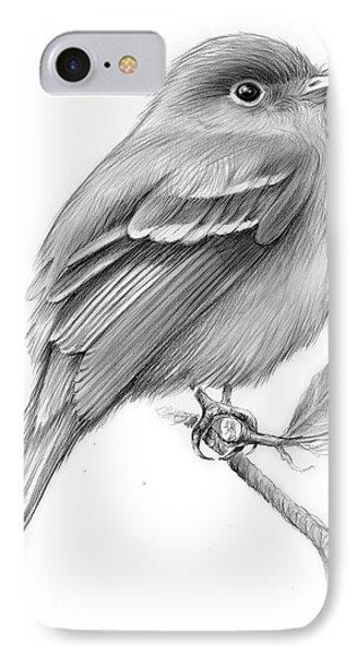 Least Flycatcher IPhone 7 Case by Greg Joens