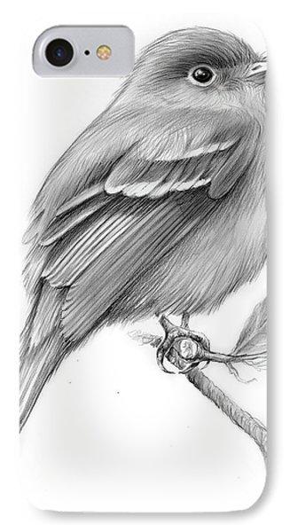 Least Flycatcher IPhone Case by Greg Joens