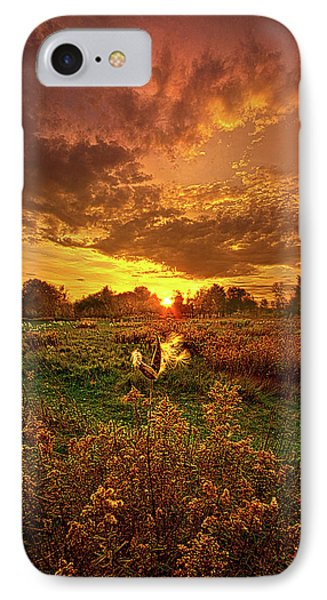 Leave A Light On IPhone Case by Phil Koch