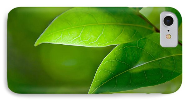 Leaves Of Green IPhone Case by Az Jackson