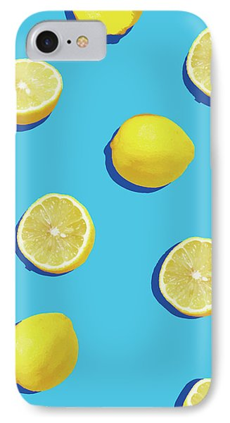 Lemon Pattern IPhone 7 Case by Rafael Farias