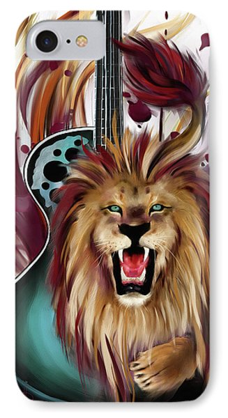 Leo IPhone Case by Melanie D