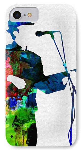 Leonard Watercolor IPhone Case by Naxart Studio