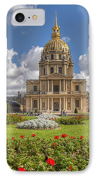 Les Invalides IPhone Case by Tim Stanley