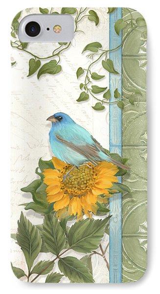 Les Magnifiques Fleurs Iv - Secret Garden IPhone Case by Audrey Jeanne Roberts
