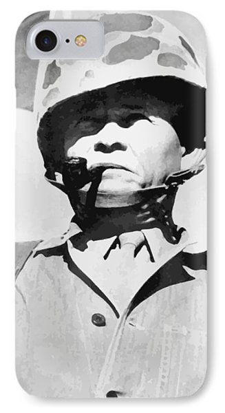 Lewis Chesty Puller IPhone Case by War Is Hell Store