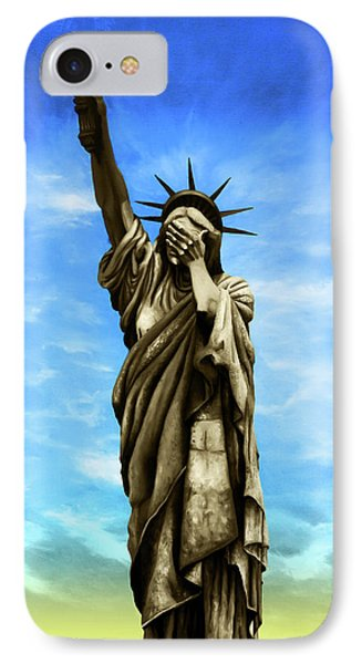 Liberty 2016 IPhone Case by Kd Neeley