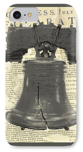 Liberty Bell IPhone Case by Brandi Fitzgerald