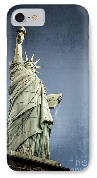 Liberty Enlightening The World Phone Case by Charles Dobbs