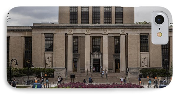 Library At Penn State University  IPhone 7 Case by John McGraw