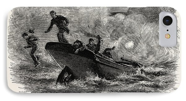 Lieutenant Cushing's Attack On The Albemarle IPhone Case by American School