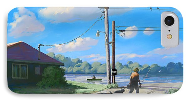 Life In The Slow Lane IPhone Case by Joseph Scott