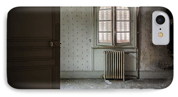 Light From Another Room - Urban Exploration IPhone Case by Dirk Ercken