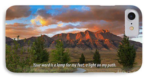 Light On My Path IPhone Case by Robert Bales