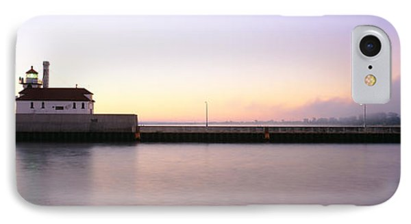 Lighthouse At The Waterfront, Duluth IPhone Case by Panoramic Images