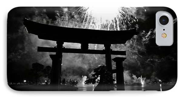 Lights Over Japan Phone Case by David Lee Thompson