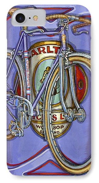 Lilac Carlton Porteur IPhone Case by Mark Howard Jones