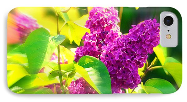Lilacs IPhone Case by Susanne Van Hulst