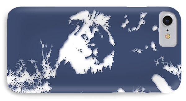 Lion 2 IPhone Case by Joe Hamilton