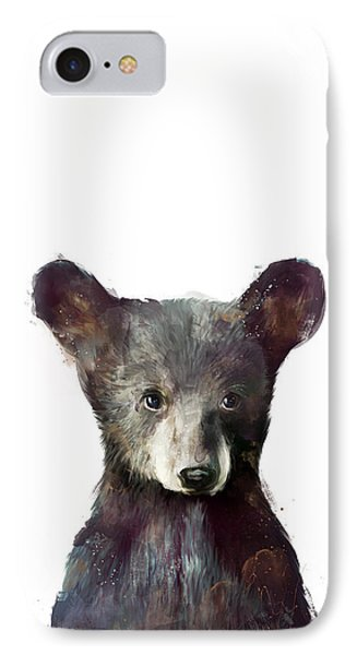 Little Bear IPhone Case by Amy Hamilton