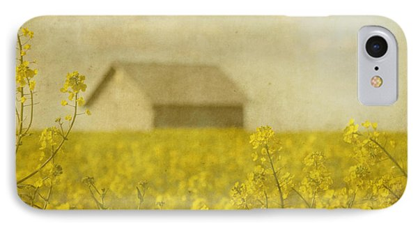 Little House On The Prairie IPhone Case by Rebecca Cozart