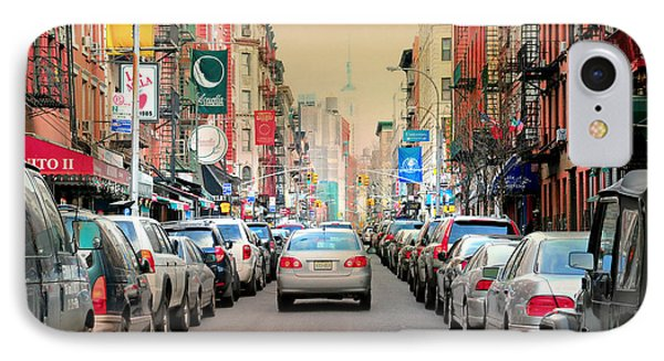 Little Italy Manhattan IPhone Case by Diana Angstadt