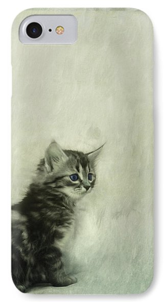 Little Kitty IPhone Case by Priska Wettstein