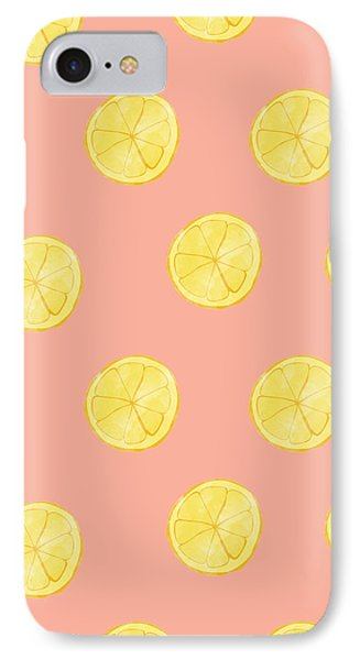 Little Lemons IPhone 7 Case by Allyson Johnson