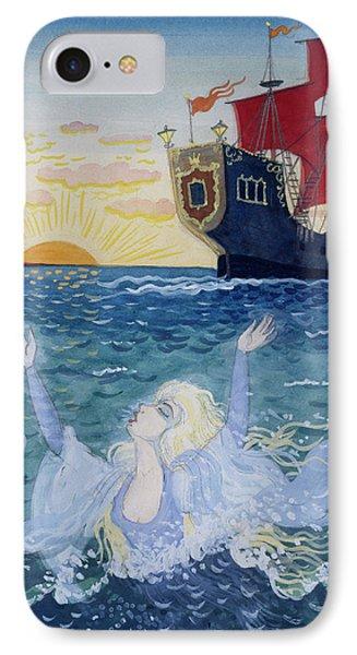 Little Mermaid IPhone Case by Lorenz Frolich