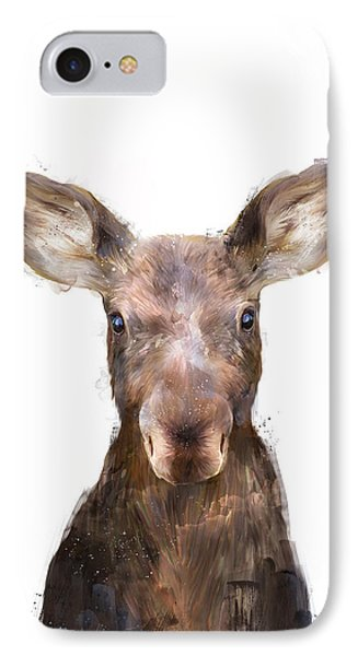 Little Moose IPhone Case by Amy Hamilton