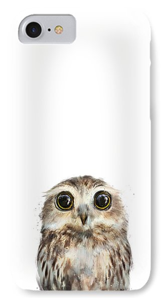 Little Owl IPhone Case by Amy Hamilton