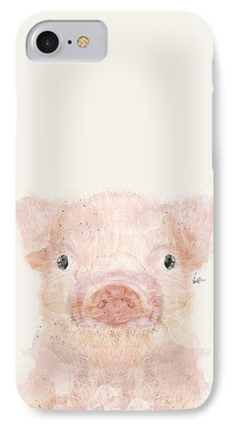 Little Pig IPhone Case by Bri B