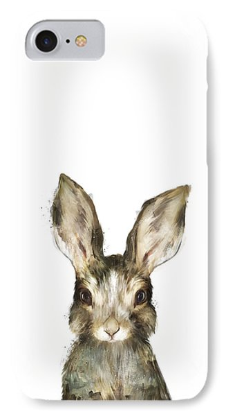 Little Rabbit IPhone 7 Case by Amy Hamilton