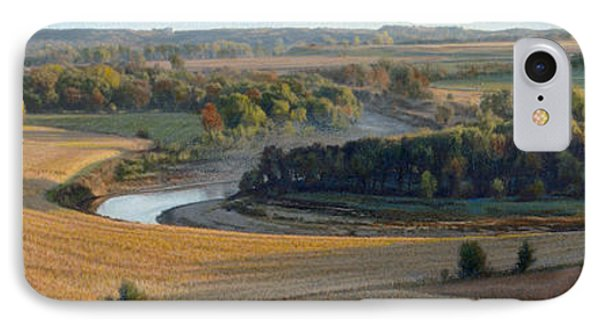 Little Sioux Autumn Sunrise IPhone Case by Bruce Morrison