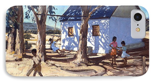 Little White House Karoo South Africa IPhone Case by Andrew Macara