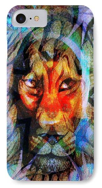 Living Among Lions IPhone Case by Fania Simon