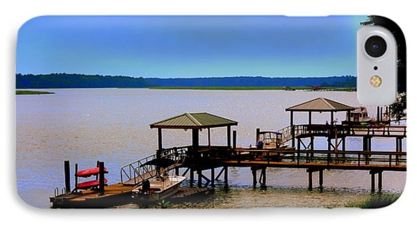 Living In The Lowcountry IPhone Case by Lisa Wooten