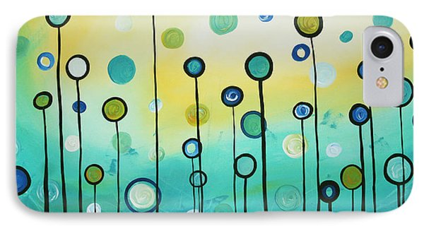 Lollipop Field By Madart Phone Case by Megan Duncanson