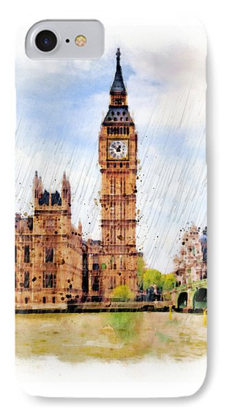 London Calling IPhone Case by Marian Voicu