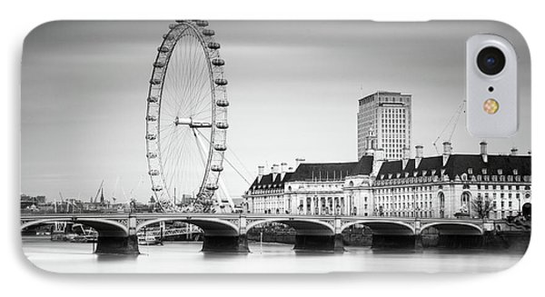 London Eye IPhone Case by Ivo Kerssemakers